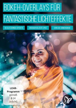 Magische Bokeh-Overlays für leuchtende Fantasy-Bilder und Fotoeffekte