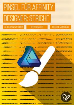 100 Affinity Designer-Pinsel: Skizzen-Look