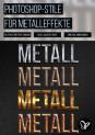 Photoshop-Stile für markante Metalleffekte