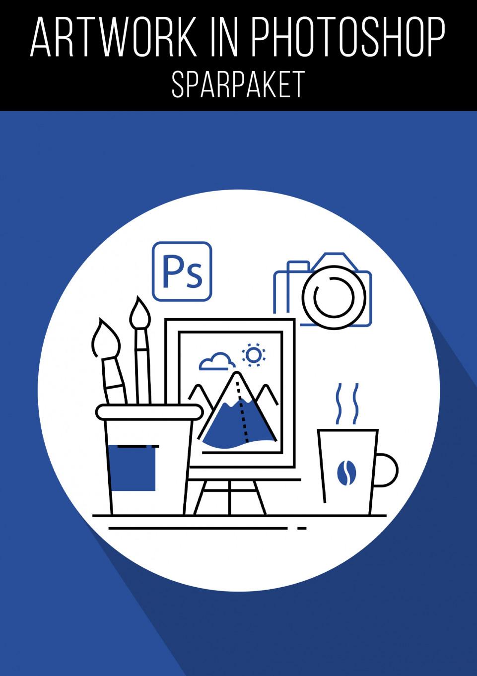 Compositing und Artwork in Photoshop: 7 Tutorials im Sparpaket