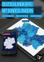 Deutschlandkarte mit Bundesländern in Vektorqualität