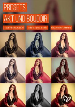 Presets für verführerische Akt- und Boudoir-Looks (Lightroom, Camera Raw)