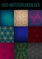600 Hintergrundbilder mit filigranen Ornamenten – Sparpaket