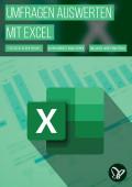 Excel: Fragebogen und Umfragen auswerten – Statistik am praktischen Fallbeispiel