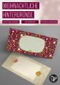 Weihnachtsgrußkarten: festliche Hintergründe zum Ausdrucken und für digitale Glückwünsche