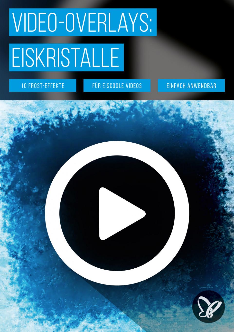 Freezing Ice – frostige Video-Animationen mit wachsenden Eiskristallen in 4K-Qualität