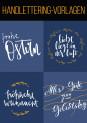 Handlettering-Vorlagen im Sparpaket: So wunderschön können Worte sein
