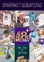 Sparpaket Geburtstag: über 250 Vorlagen, Illustrationen und Texturen