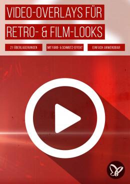 Film-Looks: Retro-Overlays für cineastische Video-Effekte