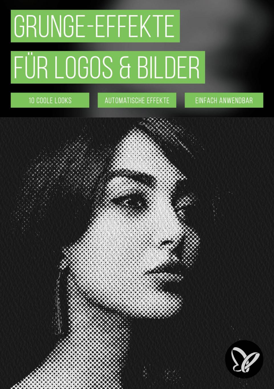 Grunge meets Retro: Photoshop-Effekte für Logos, Texte und Bilder