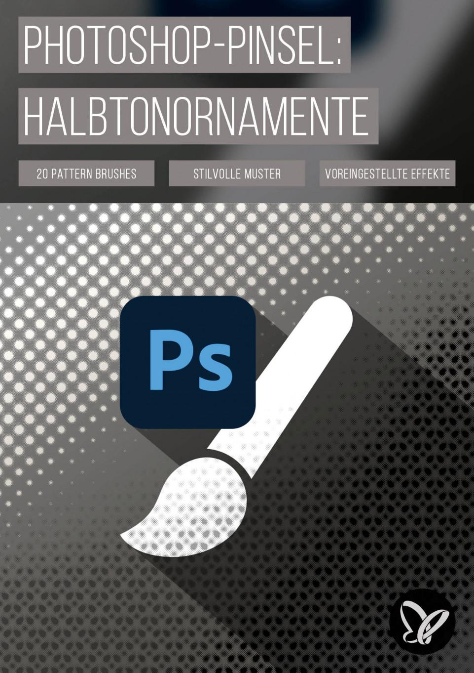 Pattern Brushes: 20 Photoshop-Pinsel für stilvolle Ornament-Muster