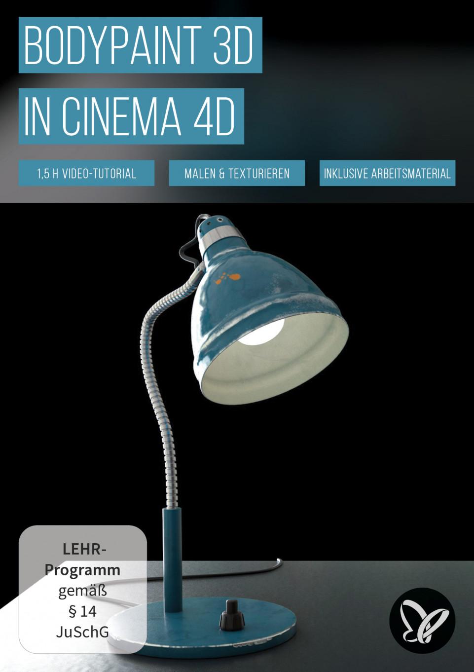 BodyPaint 3D in Cinema 4D (Tutorial): 3D-Objekte bemalen und mit Texturen versehen