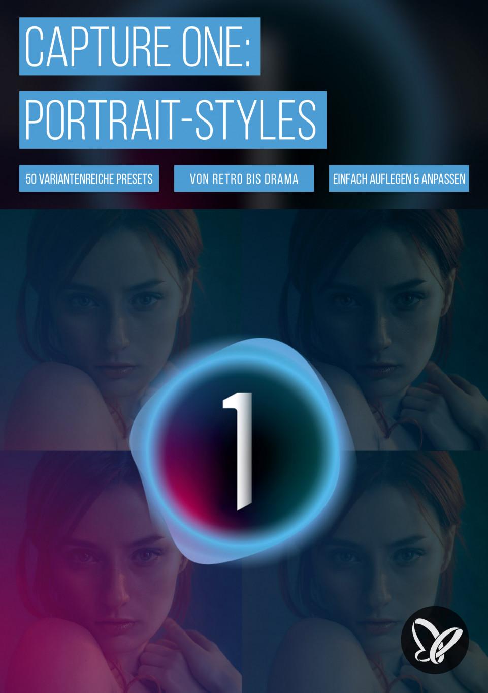 Capture One: 50 Presets für Portrait-Styles