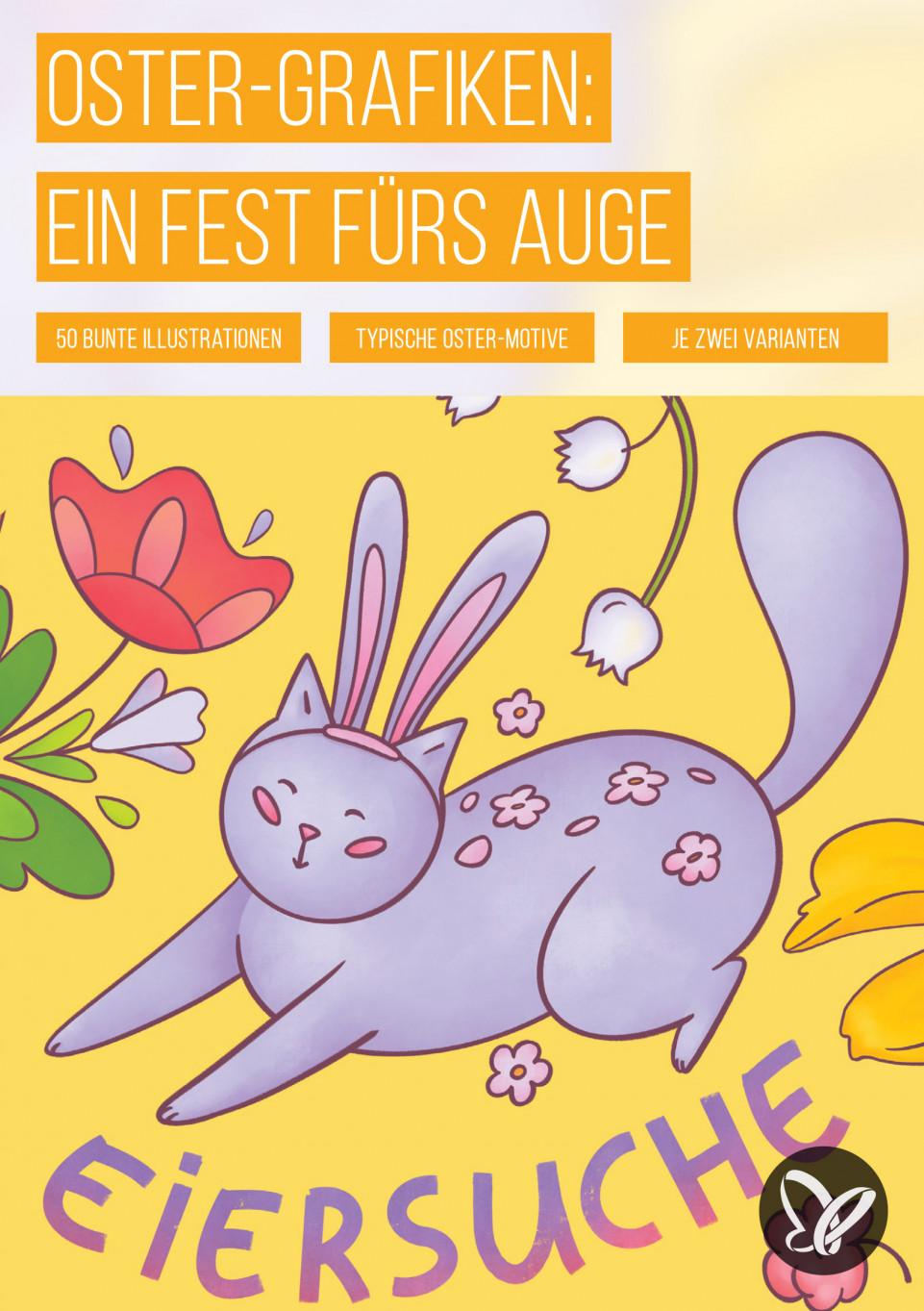 Grafiken und Illustrationen für Ostern: Ein Fest fürs Auge