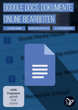 Google Docs-Tutorial: Dokumente online bearbeiten