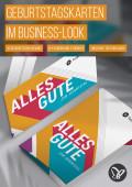 Geburtstagskarten geschäftlich: Vorlagen im Business-Look
