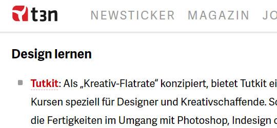 TutKit.com in der Presse