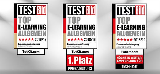1. Platz Preis/Leistung für TutKit.com