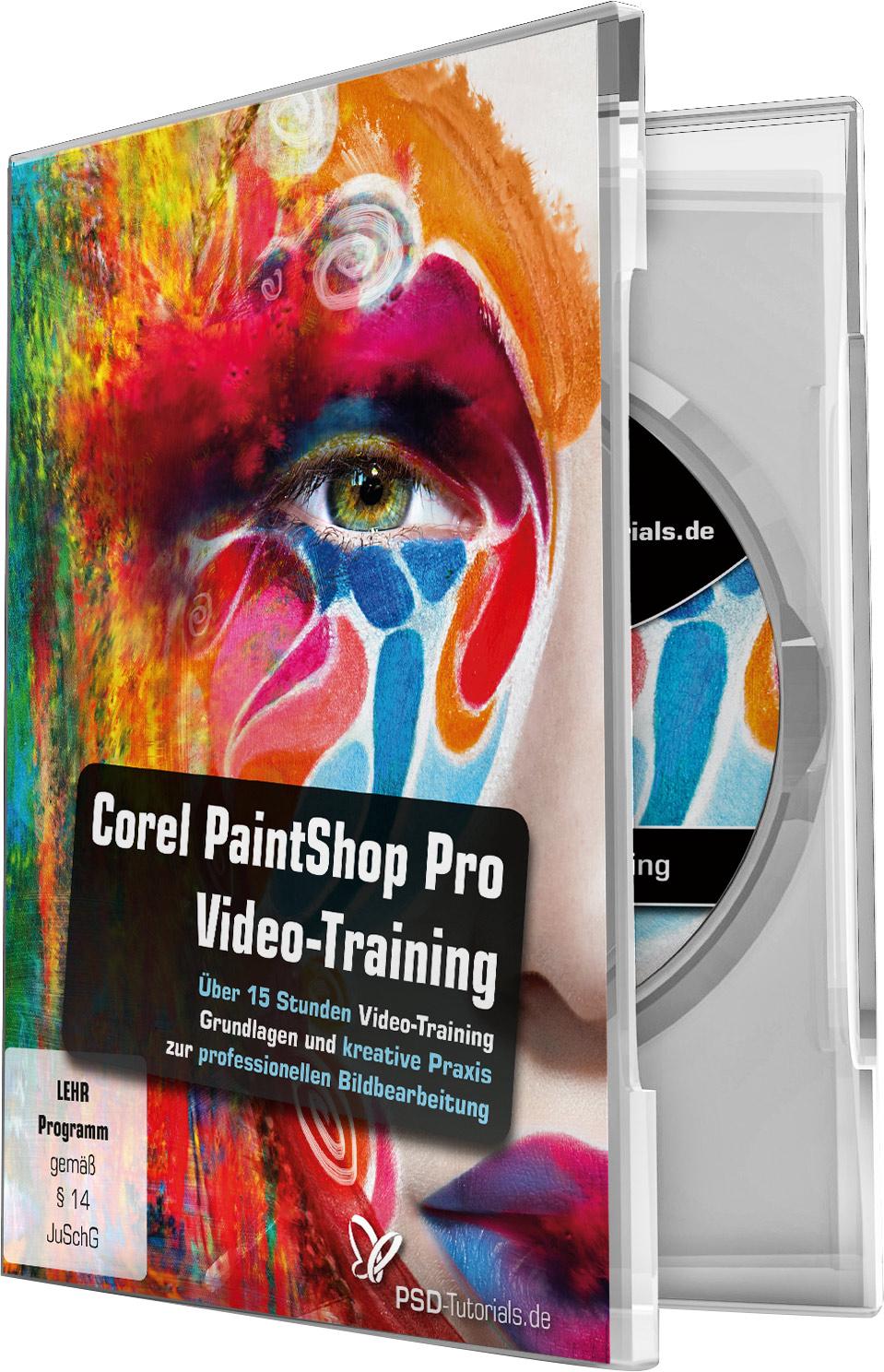 corel paintshop pro video training psd shop. Black Bedroom Furniture Sets. Home Design Ideas