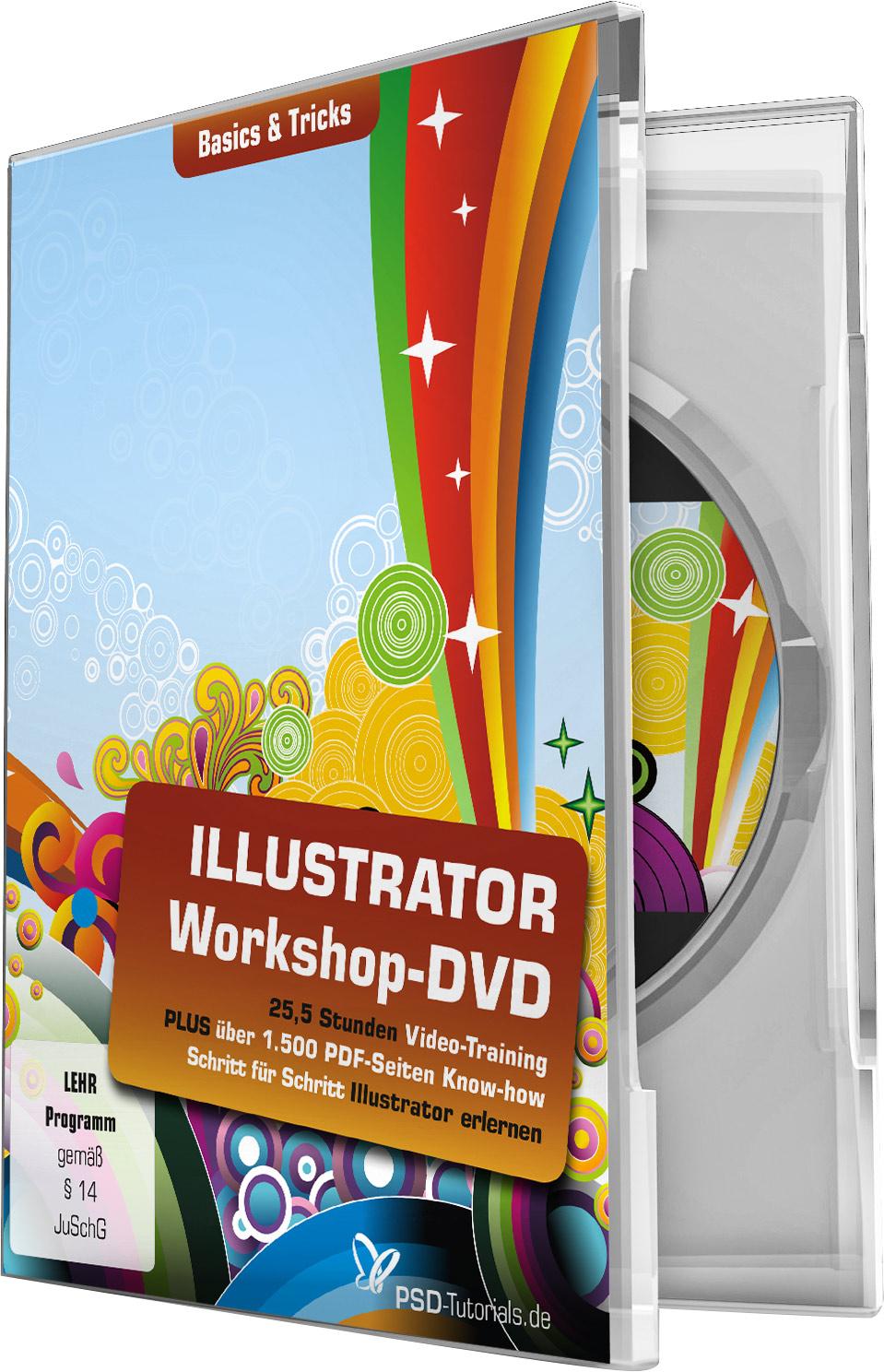 illustrator workshop dvd basics tricks psd shop. Black Bedroom Furniture Sets. Home Design Ideas