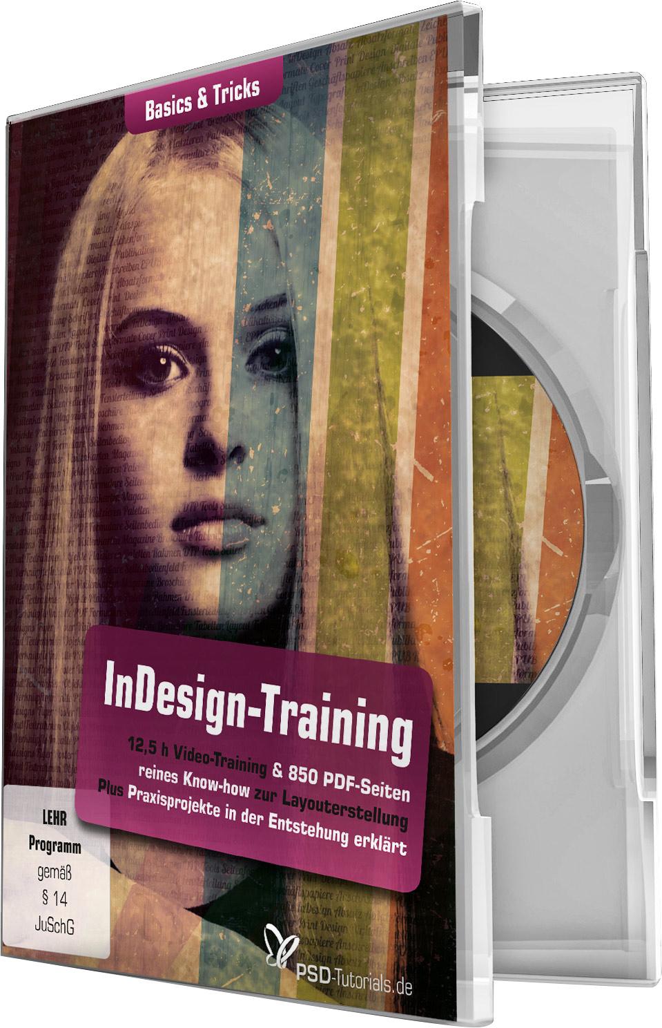 indesign training basics tricks psd shop. Black Bedroom Furniture Sets. Home Design Ideas