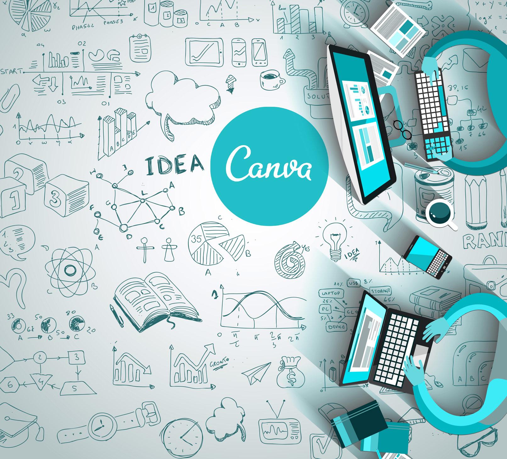 Canva: Erstelle ansprechende Grafiken und optimiere dein Design. Ideal für Einsteiger!