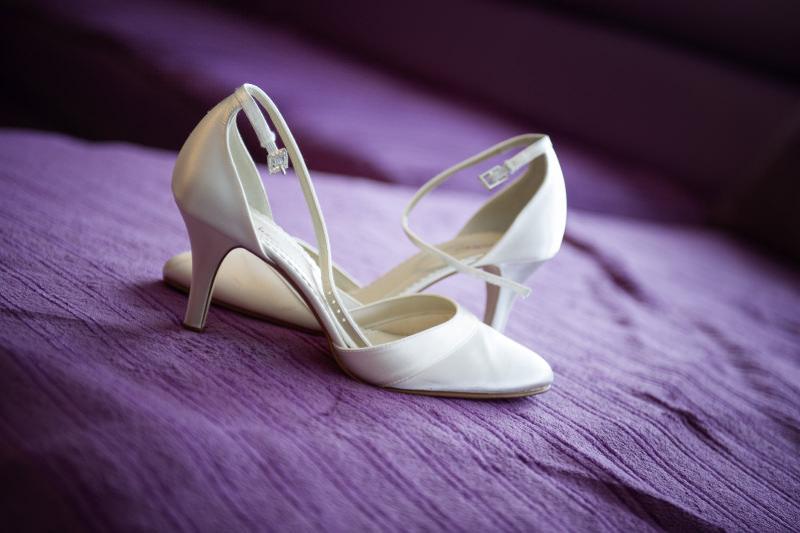 Hochzeitsfotografie Tutorial: Beispielbild Schuhe