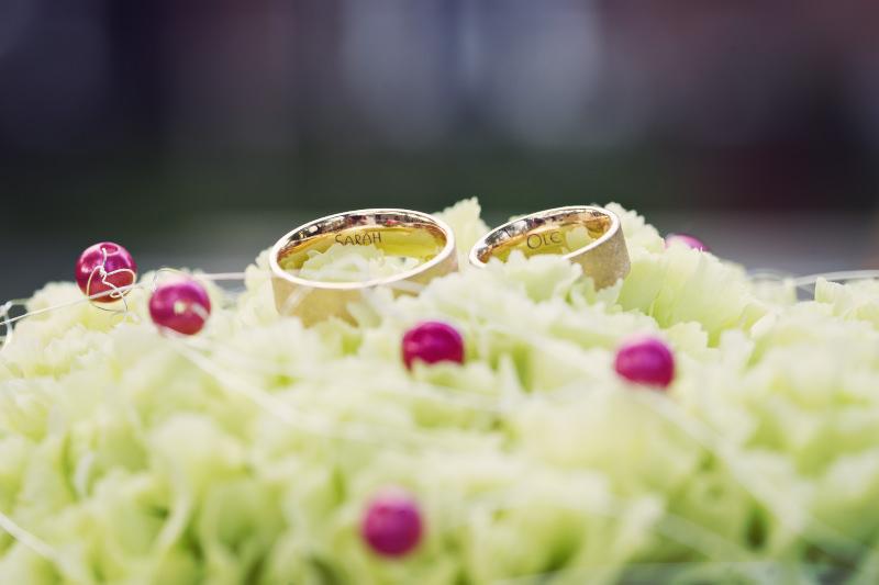 Hochzeitsfotografie Tutorial: Beispielbild Eheringe