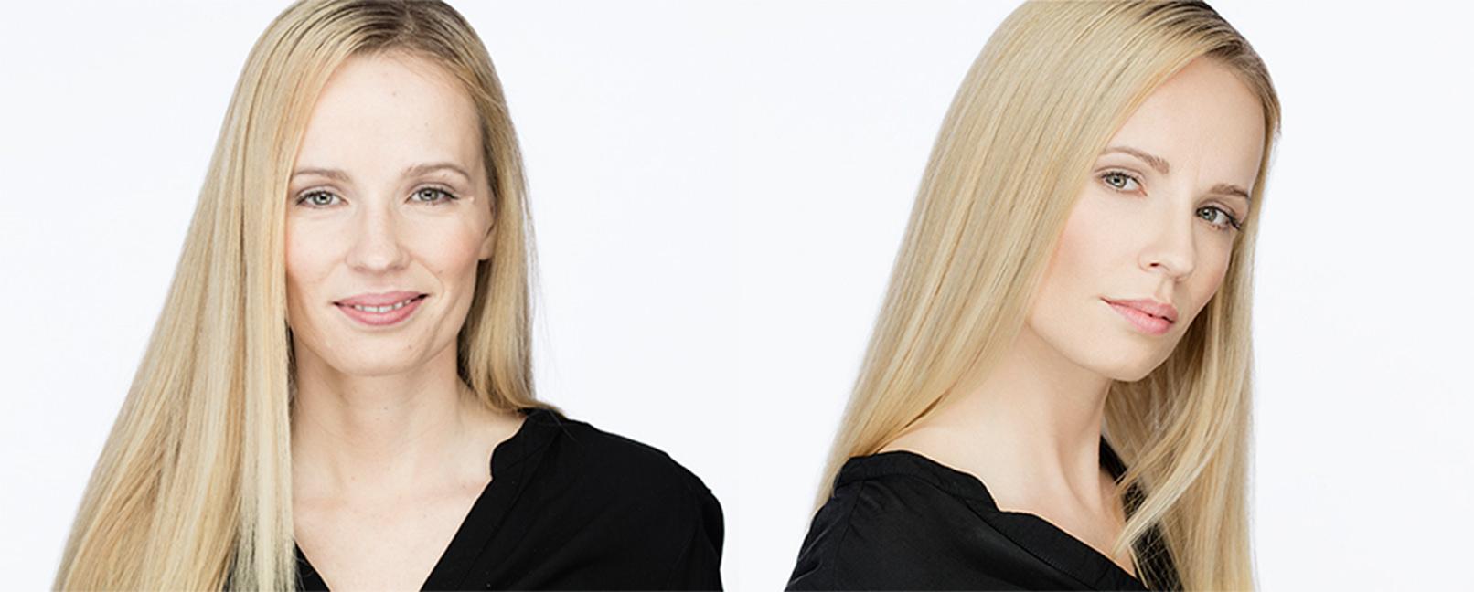 Headshot Portrait einer Frau aus dem Tutorial zur Headshot-Fotografie