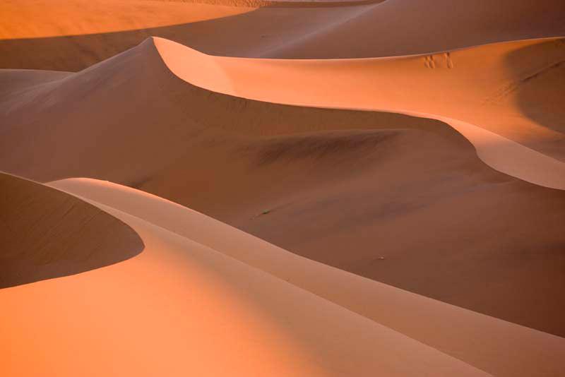Bergfotografie: Sand