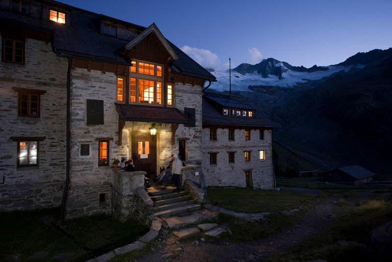 Bergfotografie: Haus