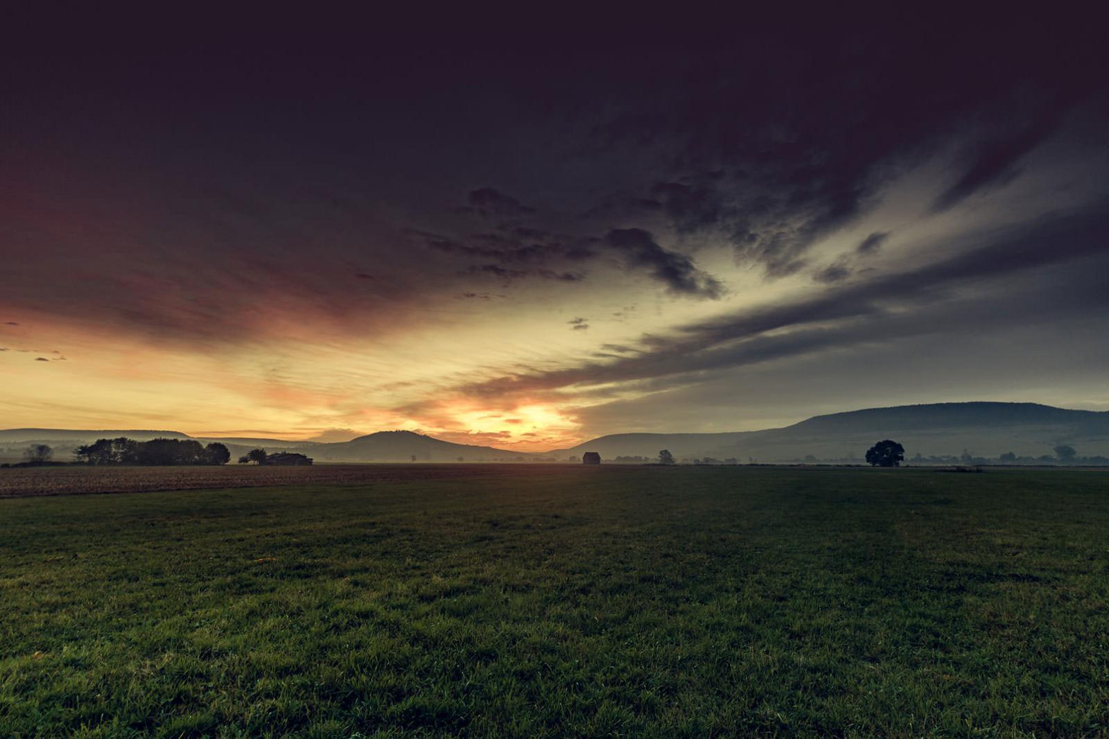 Herbst-Fotografie, Fotoshooting Landschaft und Himmel