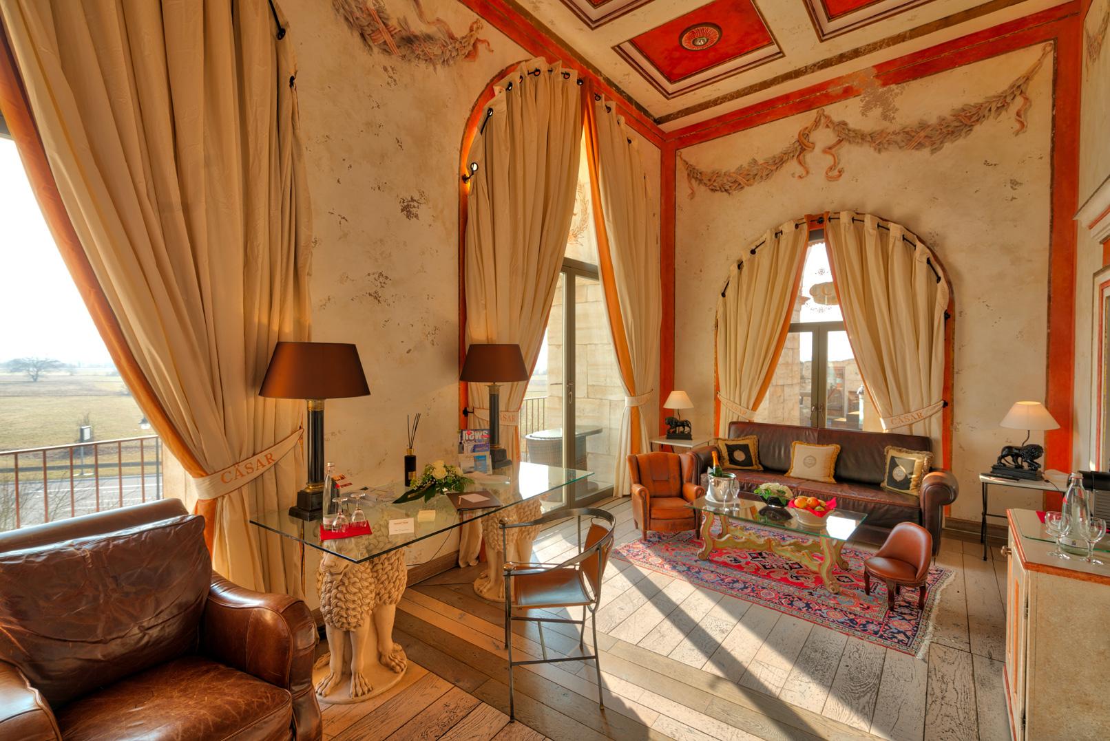 Foto einer Hotel-Suite