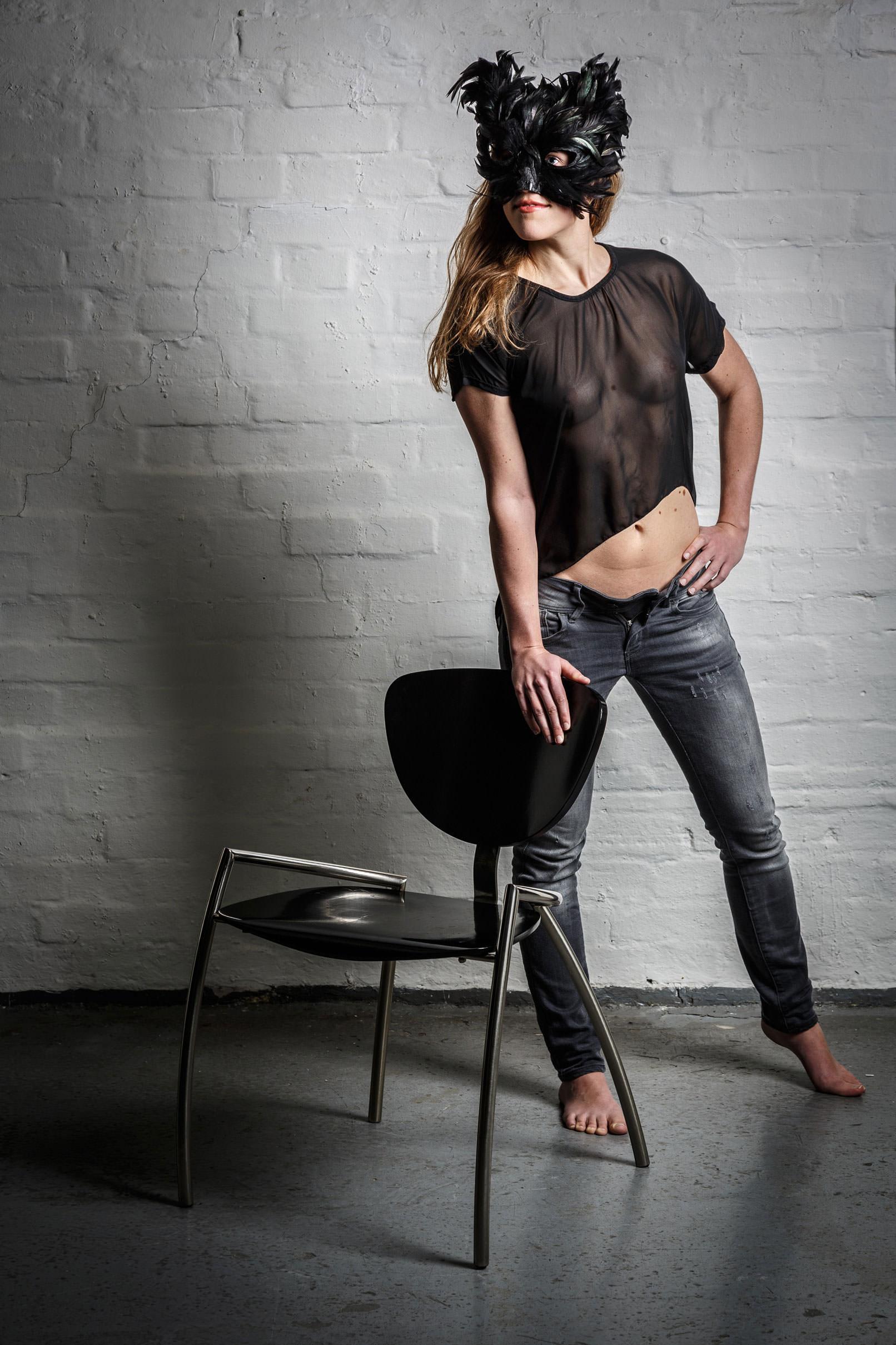 Aktfoto einer Frau