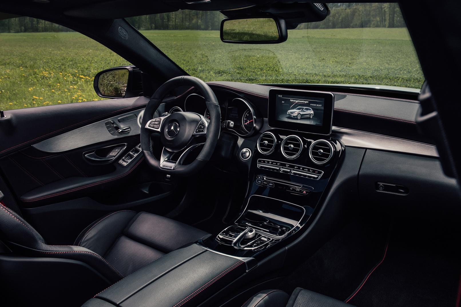Interieur eines Autos