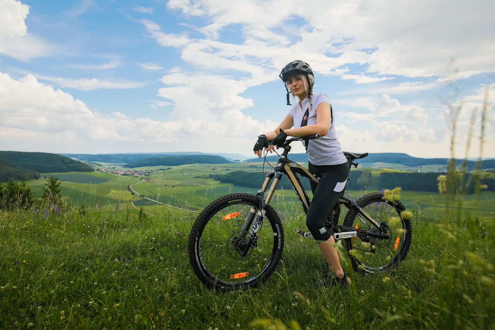 Tipps zur Sportfotografie: Beispiel: Mountainbiking