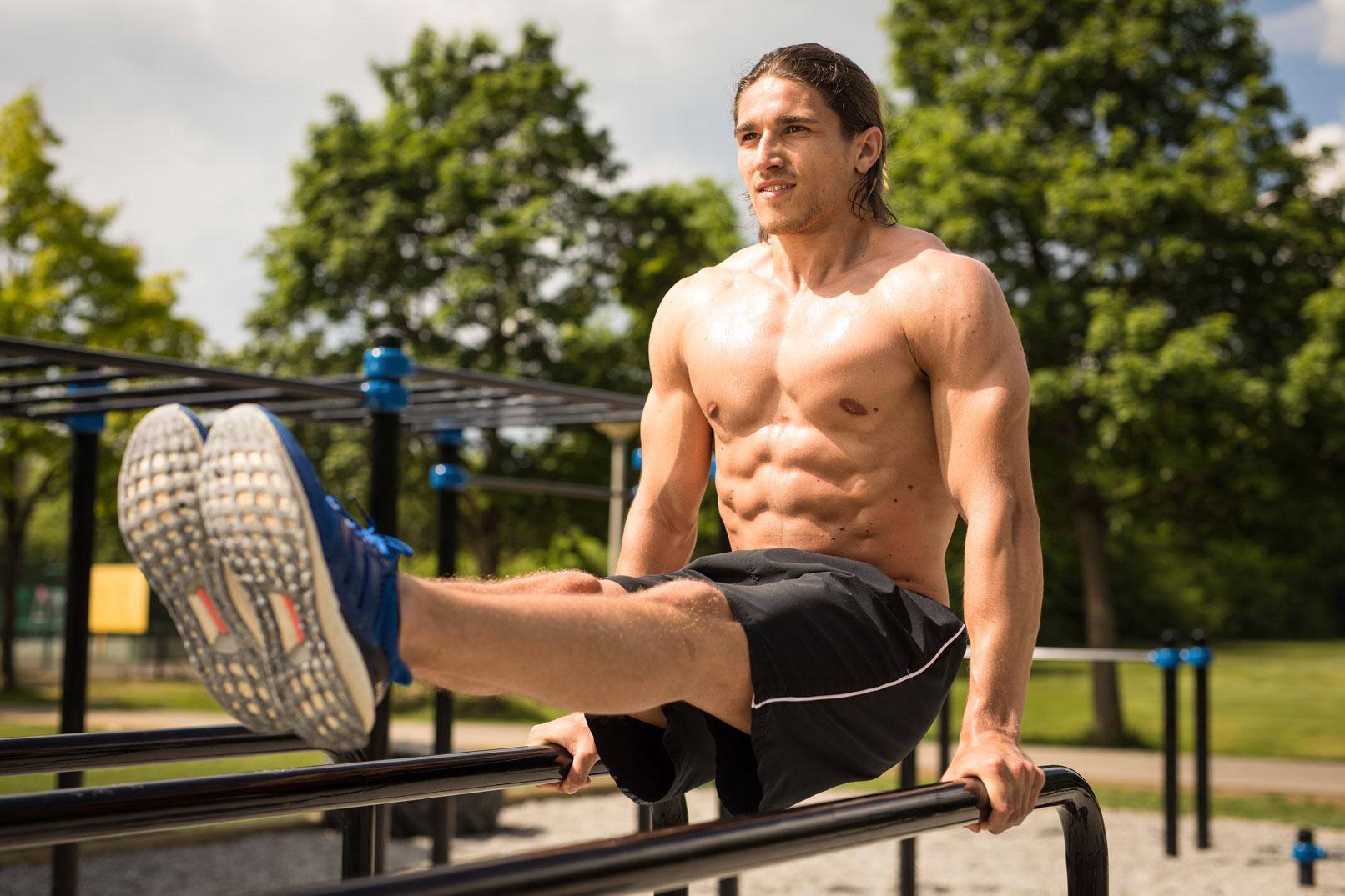 Tipps zur Sportfotografie: Beispiel: im Fitnesspark