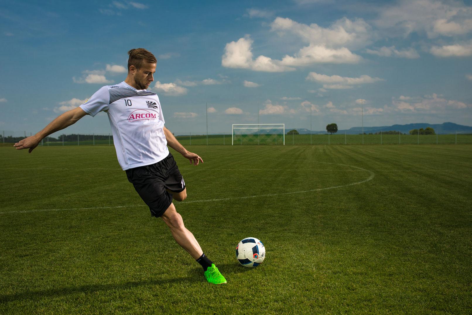 Tipps zur Sportfotografie: Beispiel Fußball