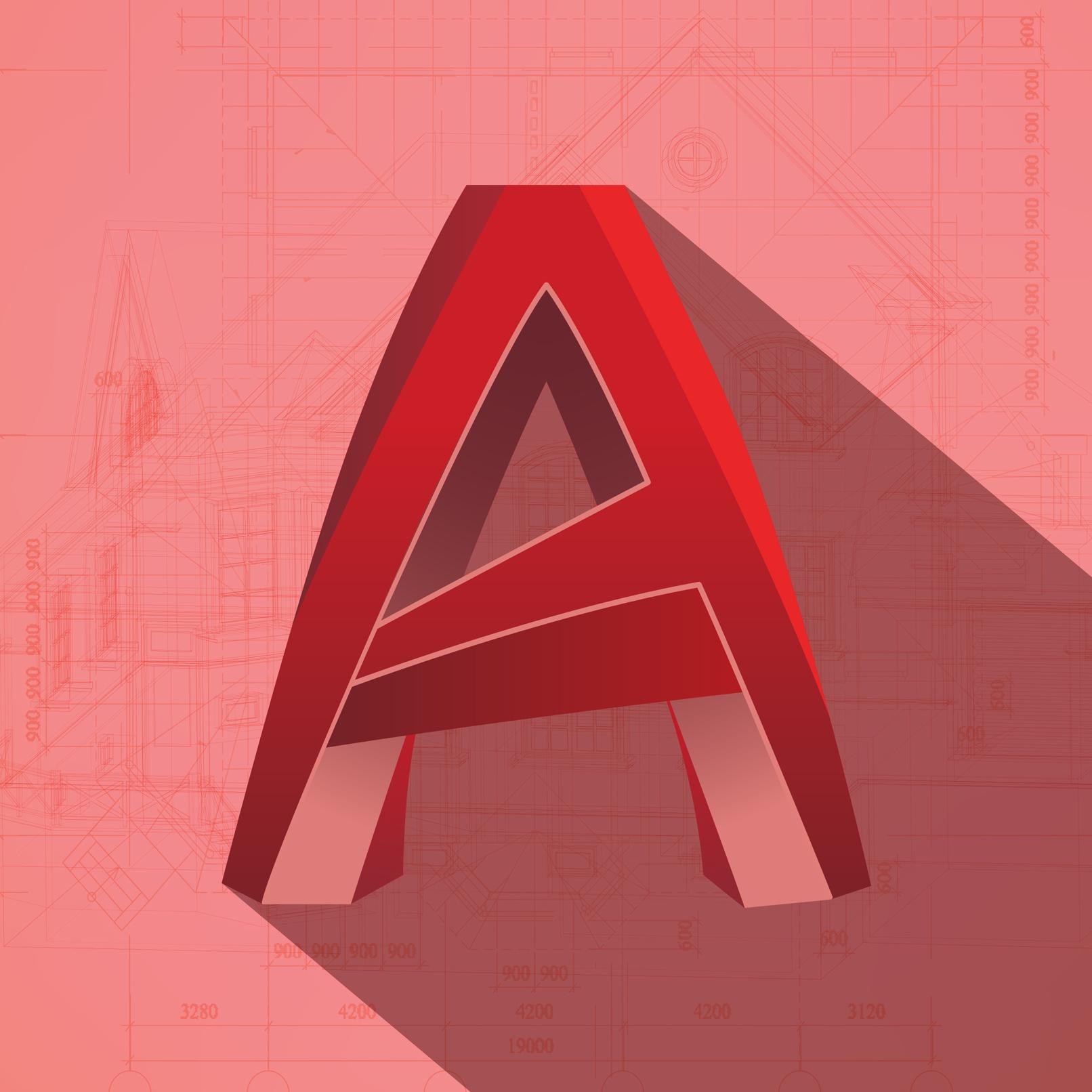 Logo von AutoCAD