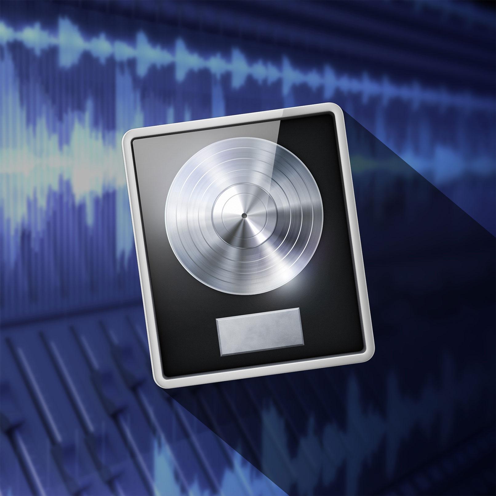Logo von Logic Pro zur Illustration von Logic Pro X Tutorial - Musik selber machen