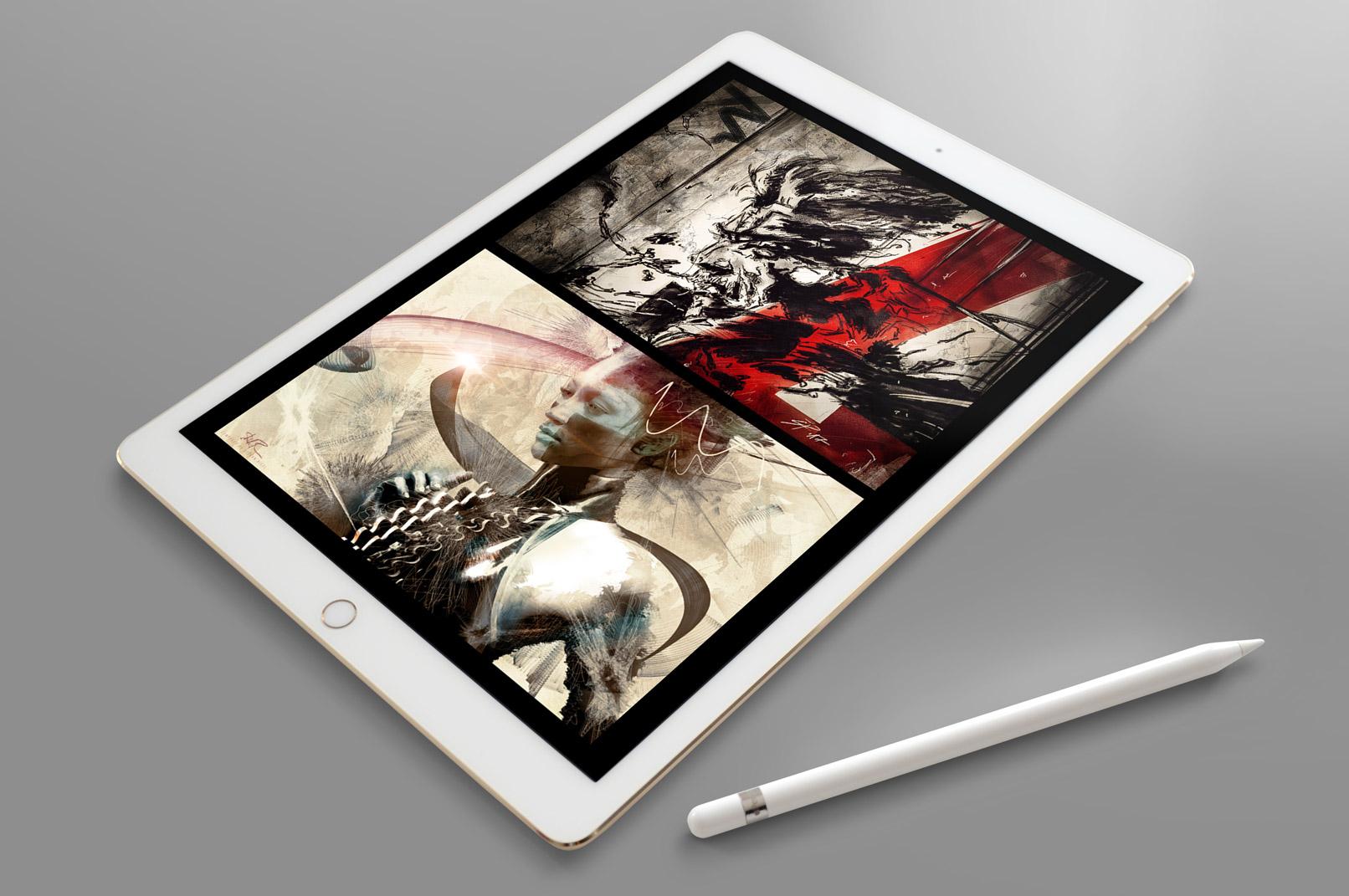 Kreative Anwendung von Pinselspitzen zur Anfertigung kunstvoller Artworks. Erstelle einen eigenen Photoshop Brush!