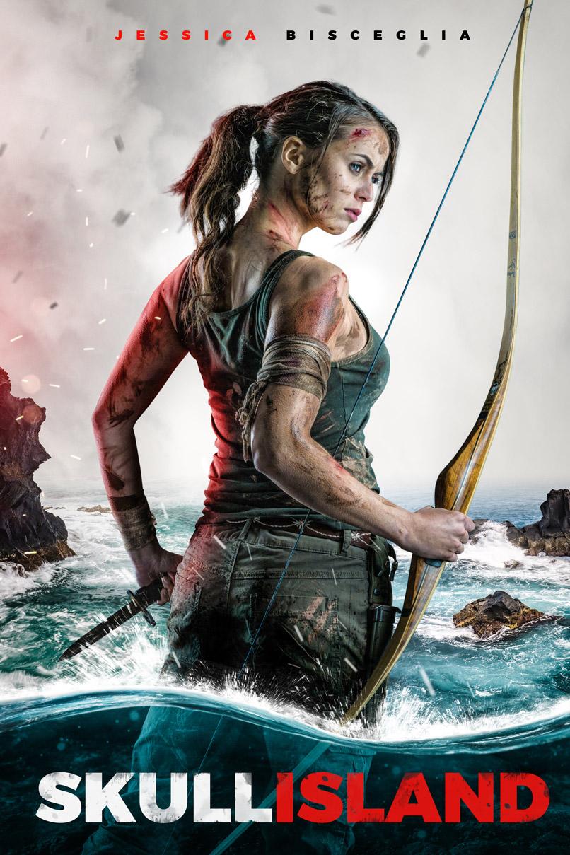 Tomb Raider Poster gestalten in Photoshop