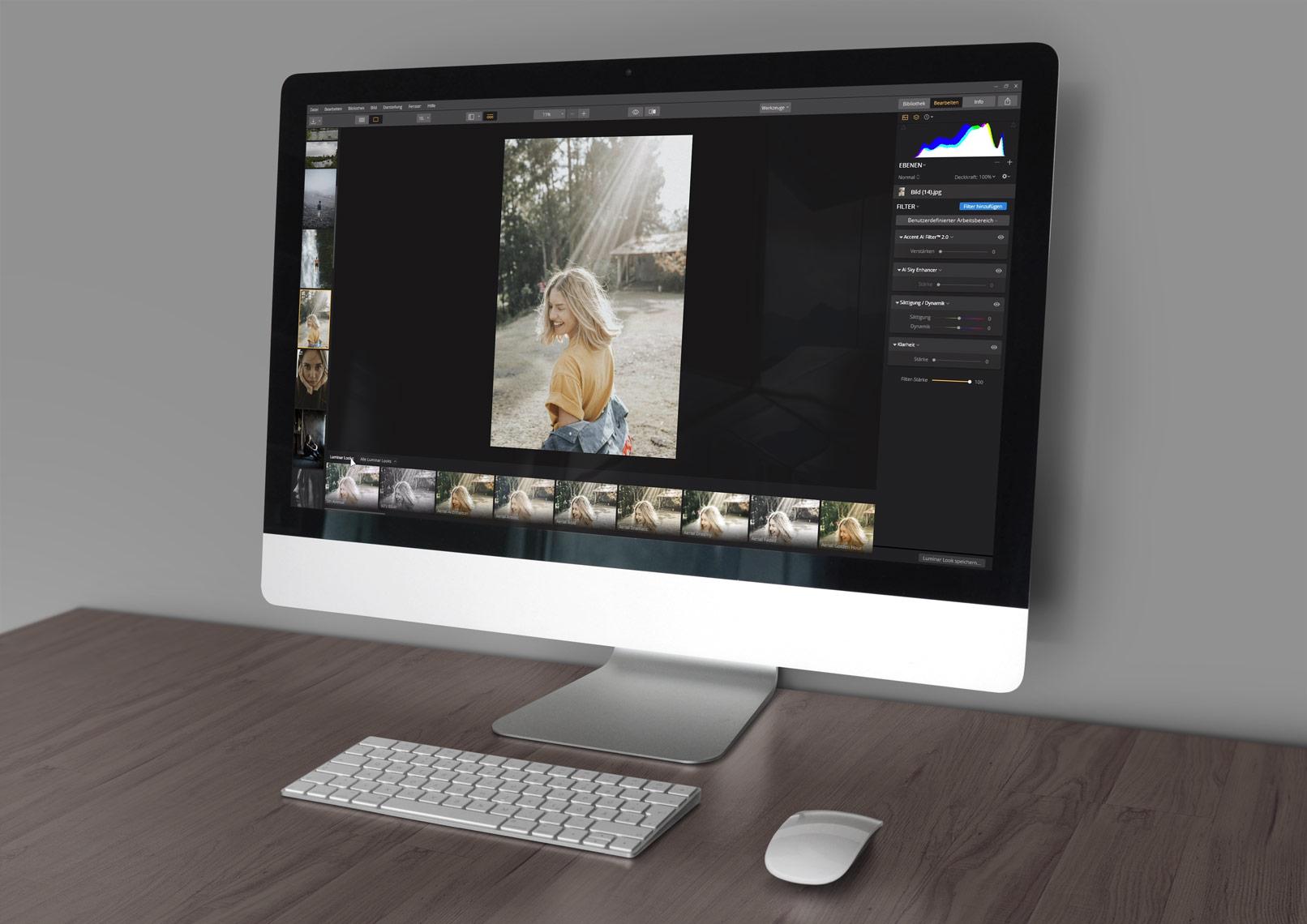 Skylum Luminar Bildbearbeitung