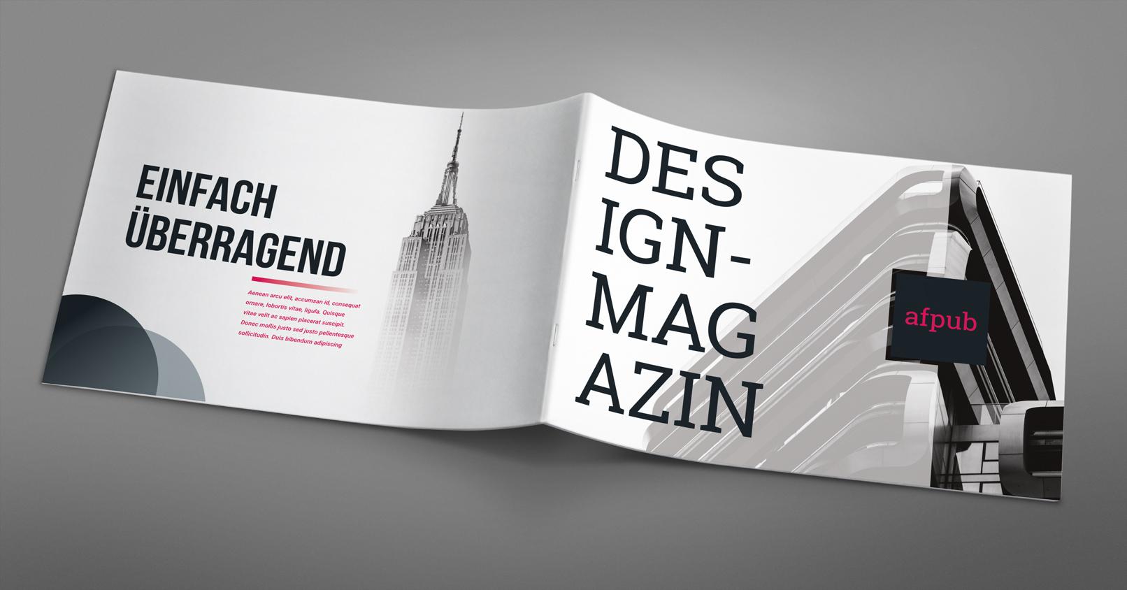 Cover und Rückseite, erstellt mit Affinity Publisher als Beispiel für das Tutorial