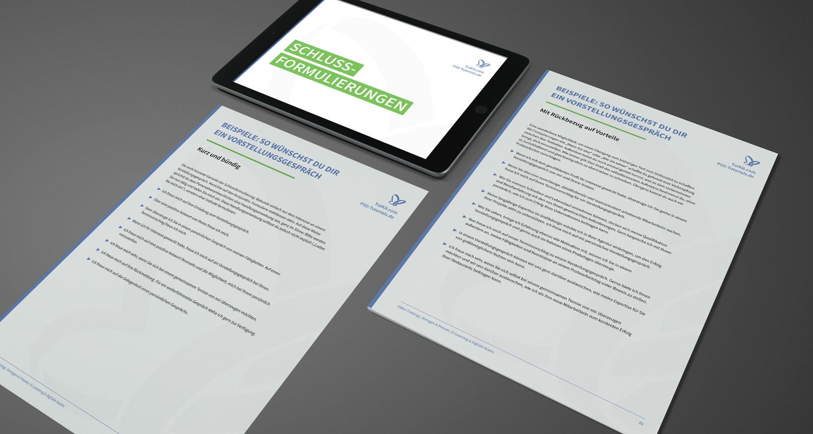 Auszug aus dem E-Book: So verfasst du dein Bewerbungsschreiben. Inspiration. Beispiele. Tipps.