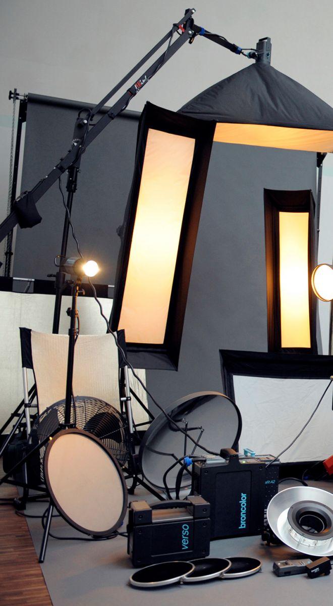 Professionelle Beleuchtungstechnik und Lichtführung
