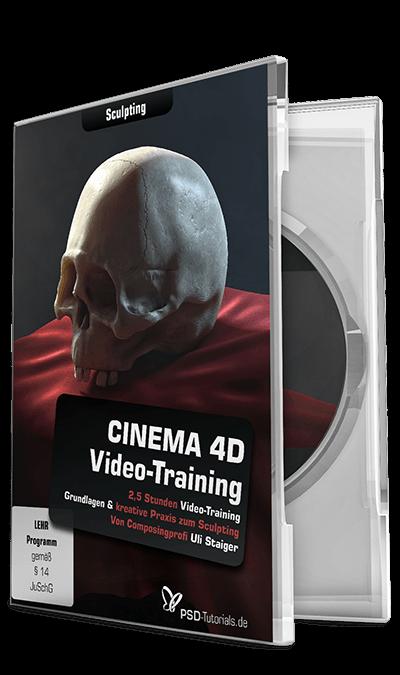 CINEMA 4D-Video-Training - Sculpting