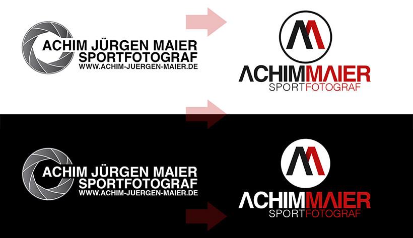 Beispielhafte Darstellung von Logos für Fotografen