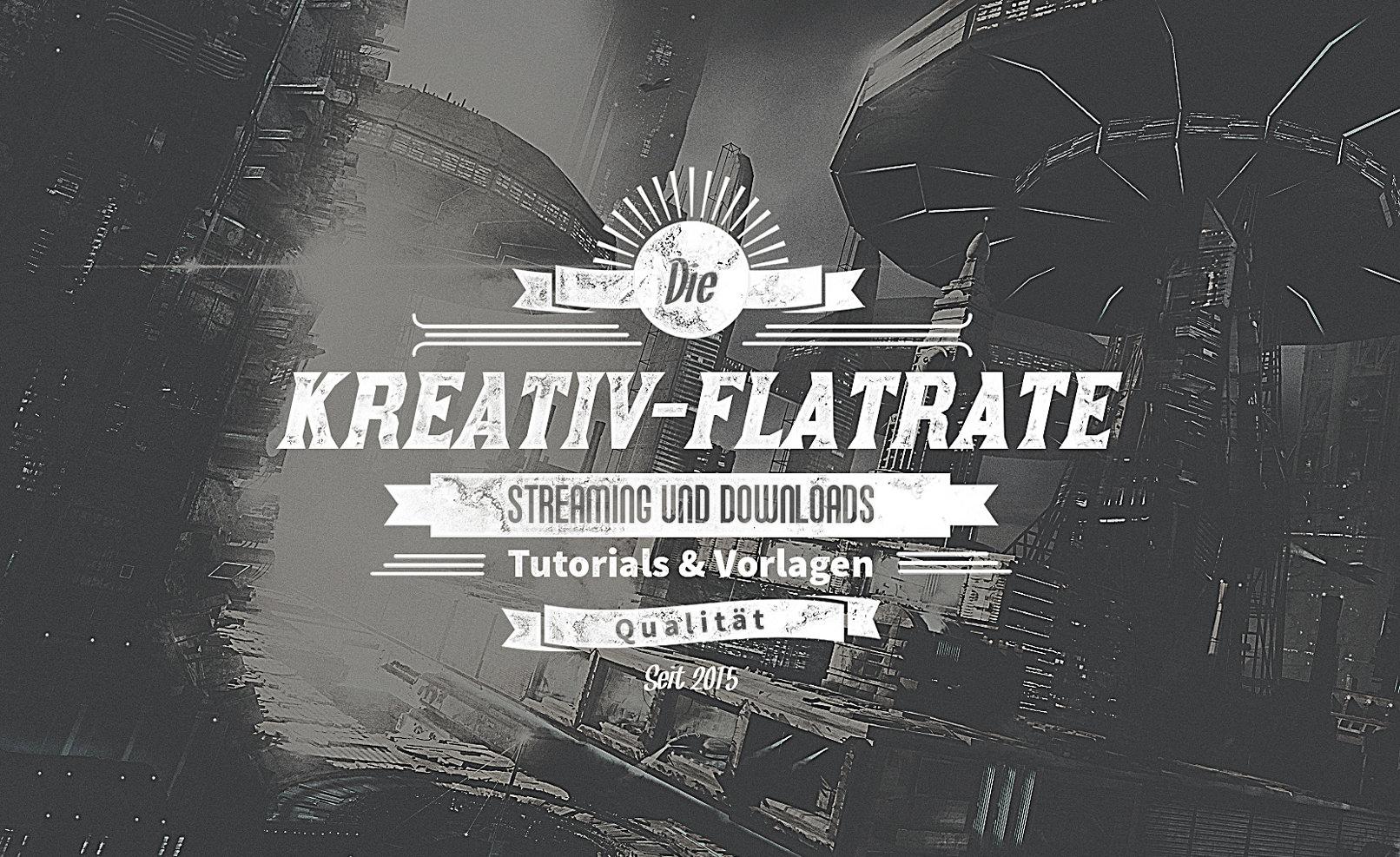 Illustration für hochwertige typografische Elemente