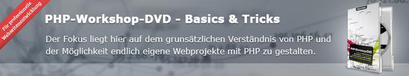 Dynamische Website mit PHP umsetzen